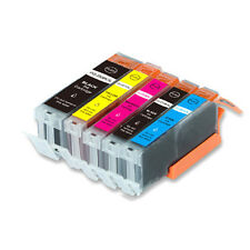 5 PK Replacement Ink Set for Canon 250 251 BK B C M Y MG6420 MG6620 MG5522
