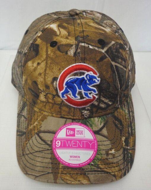 watch a044e 21ba4 ... wholesale chicago cubs womens new era realtree 9twenty lightly  structured cap hat e3b22 c71d4