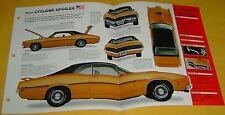 1970 1971 Mercury Cyclone Spoiler 429 ci 370 hp IMP Info/Specs/photo 15x9