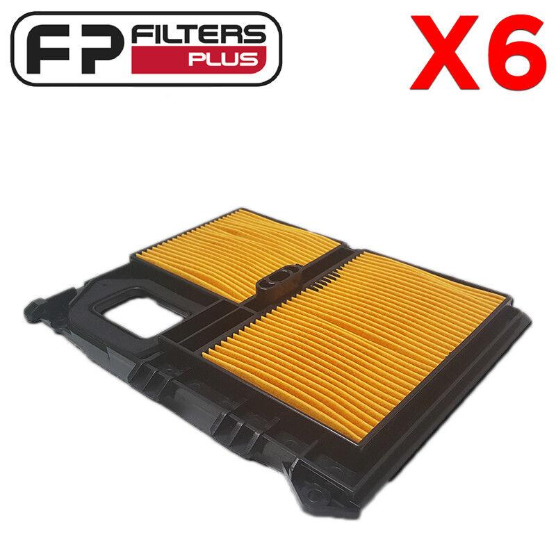 6 X SA12100 HIFI Filtro De Aire-Trajes Honda GX610 - 17010ZJ1000, 17211ZJ1000
