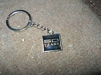 2014 Ford Mustang 50th Anniversary 50 Years Factory Promo Keychain Keyring B
