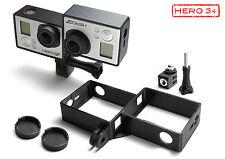 3D Frame & Tripod Mount für GoPro Go Pro HD HERO 3+ Black Zubehör Stativ Adapter