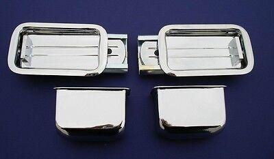 55 56 57 Chevy Rear Ashtray Set 2-D Hardtop /& Convertible 1955 1956 1957 New