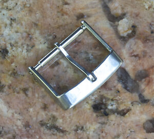 Square-Genuine-Swiss-Tropic-16mm-buckle-to-dive-watch-band-steel-INOX-100-sold