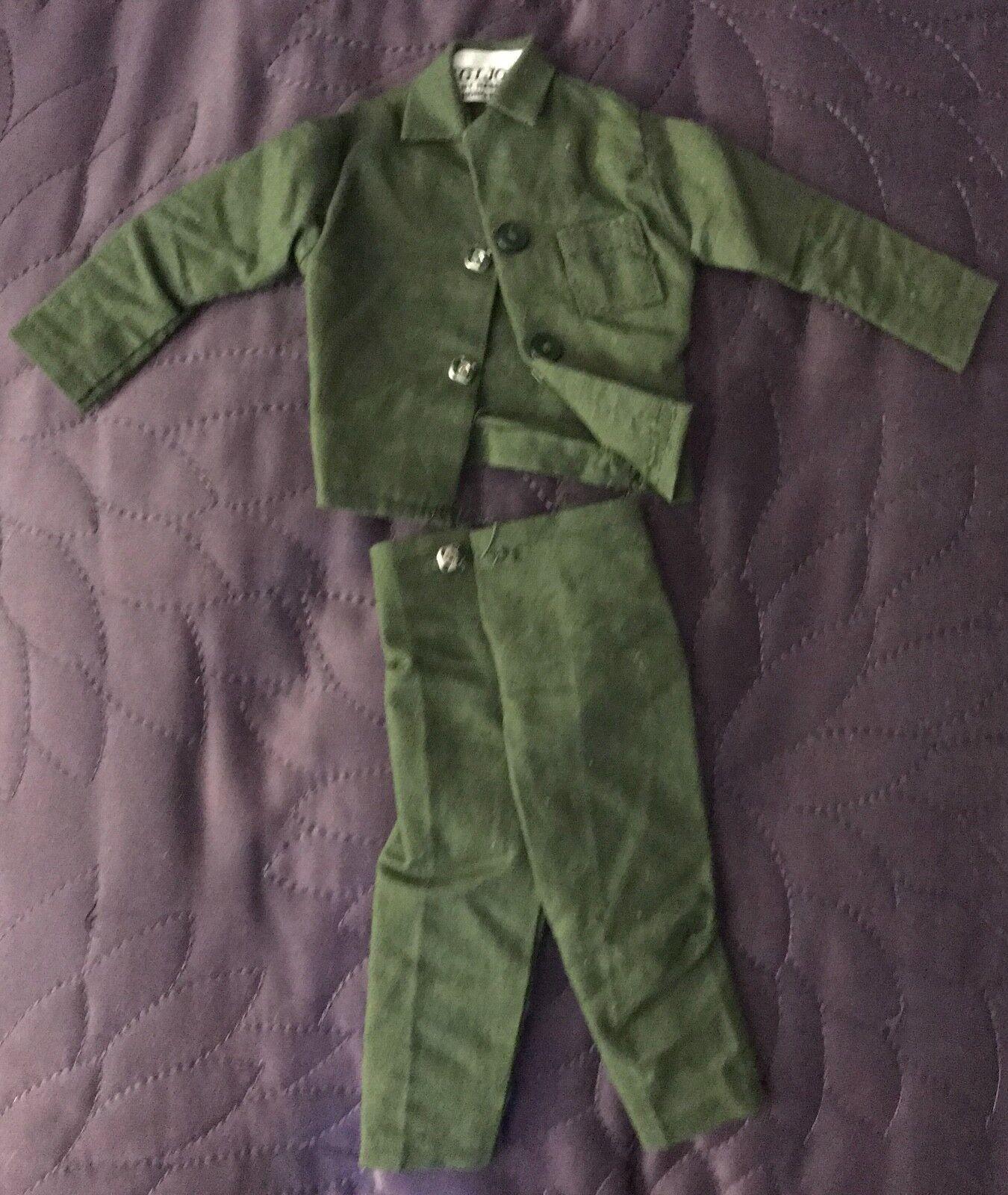 HASBRO  GI JOE  ADVENTURE TEAM  DANGEROUS MISSION  SHIRT AND PANTS  C. 1974