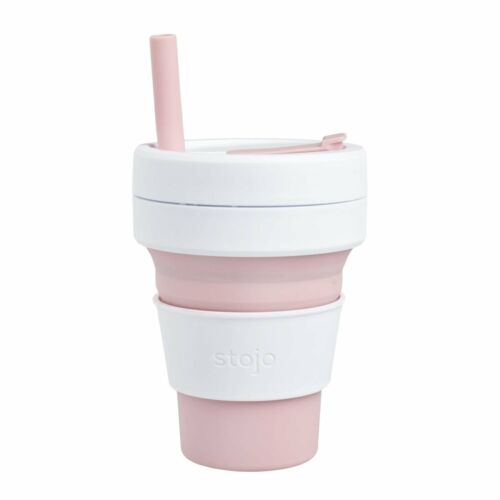 Free P/&P Worldwide! The Collapsible STOJO BIGGIE Reusable /& Leak-Proof Cup