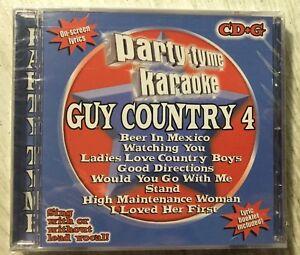 Party-Tyme-CD-G-Karaoke-Guy-Country-Volume-4-16-track-cd-NEW-Chesney-Adkins