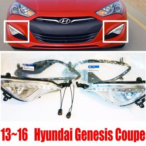 Hyundai 13-16 Genesis Coupe Fog Light Lamp  Cover Connetor 6P  DHL Free Service