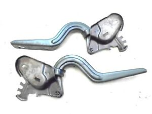 1965 1966 Mustang Coupe Convertible Deck Trunk Lid Hinges LH RH Pair Ford