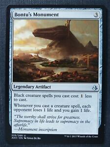 Bontu's Monument - Mtg Magic Card #SJ