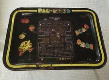 Vintage Nintendo Pac Man Pac-Man Metal TV Tray Folding Lap Tray Retro Video Game