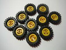 6248 2346 LEGO 6248c03 Wheel Freestyle Black Tire 30 x 10.5 with Offset Tread