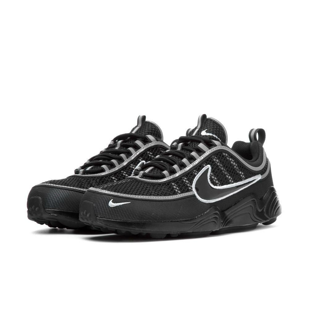 Nike Air Zoom Spiridon '16 Black Silver Men SZ 7.5 - 13