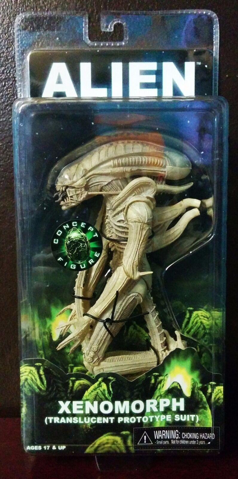Neca alien xenomorph (durchscheinende (prototyp).action - figur