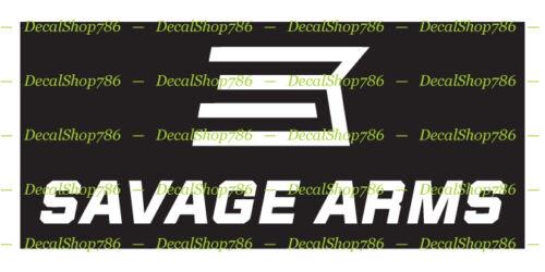 Outdoor Hunting Sports Vinyl Die-Cut Peel N/' Stick Decals Savage Arms II