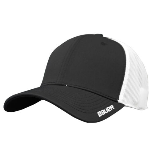 Bauer New Era Fitted Team Stretch Hat Fit SR Hockey Cap S M L XL Navy Black