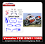 thumbnail 1 - 1989-Yamaha-FZR-OW01-Decal-Kit-Including-Spray-Masks