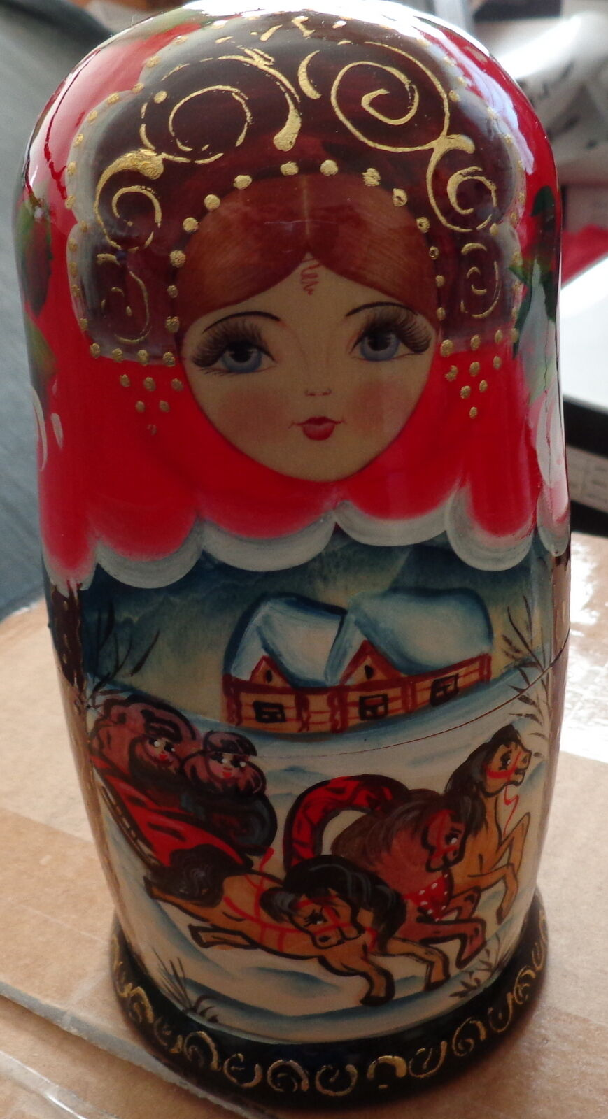 Fairy Tales Troyka Handbemalt Russische Verschachtelung Puppe 5 Pcs 17.8cm 2s