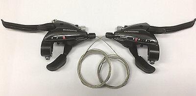 Shimano  ST-EF 65  Brems-//Schaltkombo 8 Fach schwarz neu Satz    3