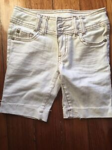 TARGET-Cotton-jeans-shorts-sz-7-Adj-Waist-FREE-POST-ON-5-KIDS-ITEM