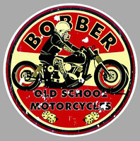Bobber Old School Sticker °