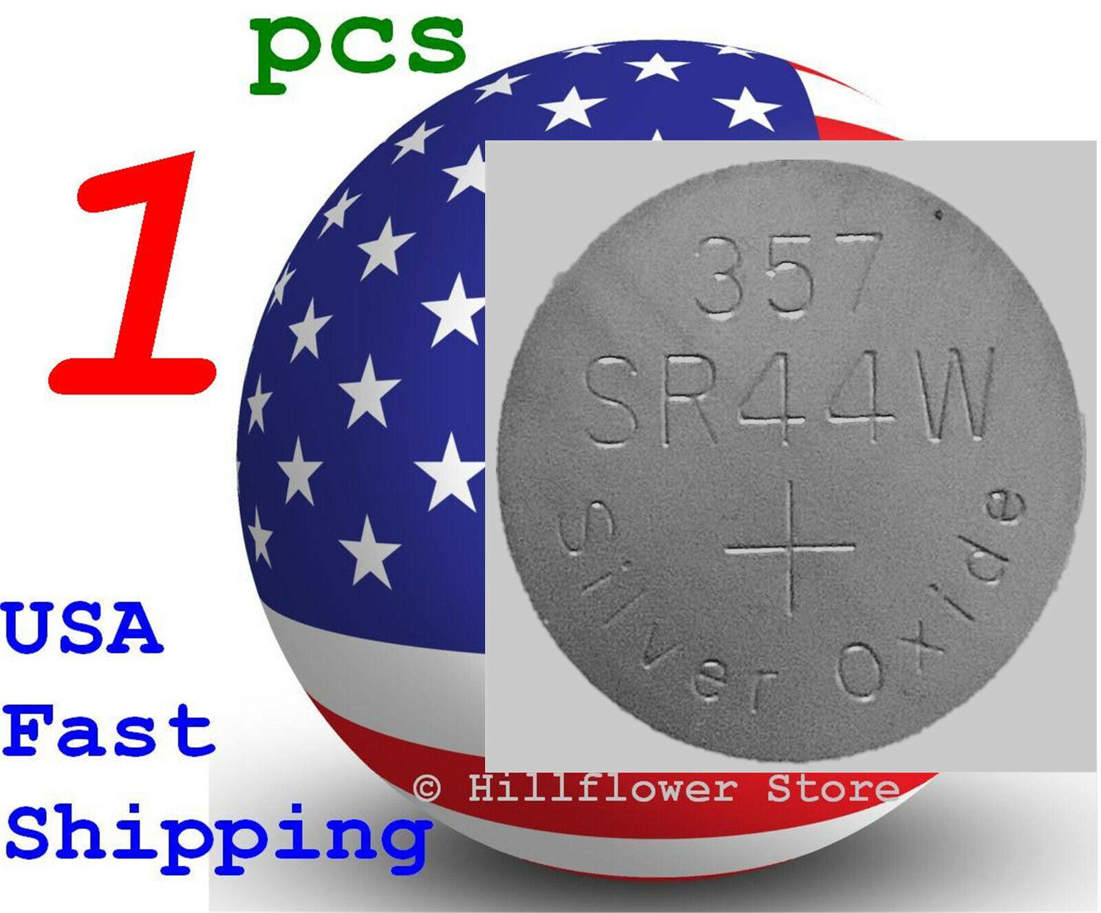 1 pcs SR44 SR44SW 303 357 G13 357A SR44W Bulk Silver Oxide Battery