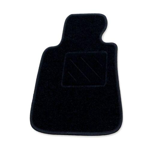 RAU   Fahrermatte ZERO schwarz für Smart Forfour ab Bj 12//03-8//14