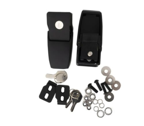 Rampage Products Locking Hood Catch Kit for 2018-2020 Jeep Wrangler JL 76337