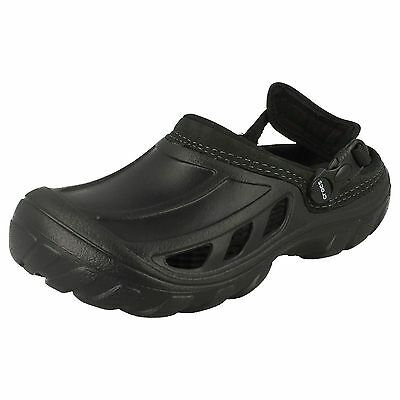 Damen Crocs schwarz leicht ohne Bügel CROCS Schuhe crostrail