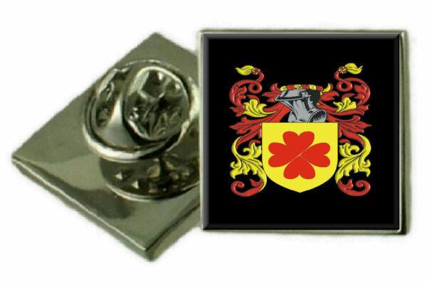 2019 Mode Fergusson Schottland Familie Wappen Revers Pin Abzeichen Graviert Geschenk Hülle Entlastung Von Hitze Und Sonnenstich