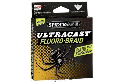 Spiderwire Ultracast Fluoro-Braid Yellow 270m 0,33mm 33,2kg