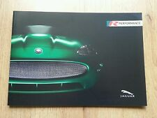 "LOVELY 30 PAGE JAGUAR A4 "" R PERFORMANCE "" BROCHURE XKR XK8 XJR XJ X S-TYPE R XK"