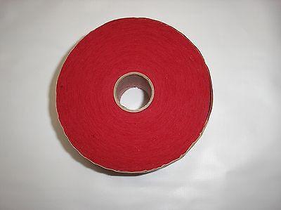 "15 Yard Roll of Red 1 7/8"" Wide Stretch Knit Ribbing"