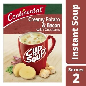 Continental-Cup-A-Soup-Creamy-Potato-amp-Bacon-With-Croutons-2-Pack-50g