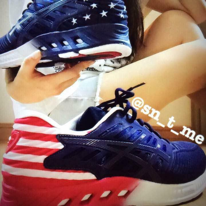 Asics fuzex American Flag limited 200 feet from japan (6370