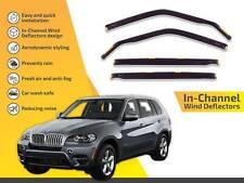 Premium Weathershields Window Visors for BMW X5 E70 2007-2013 Weathershield