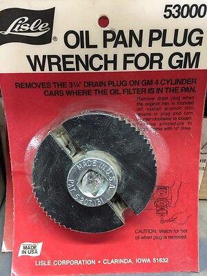 Lisle 53000 Oil Pan Plug Wrench for GM