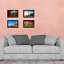 HIGH Definition Glass Front 8x12 Picture Frame Poster Wood 8x12 Frame 2-Pack
