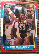 1986-87 Fleer Kareem Abdul-Jabbar #1
