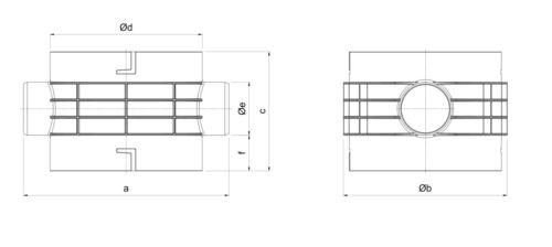 Intewa Plurafit Basis Element Basistopf PF 300-100 Basis