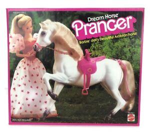 Vintage 1983 Loving You Barbie Dream Horse Prancer Arabian Horse Original Box