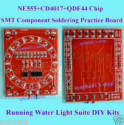 SMT Component Soldering Practice Board Running Water Light Suite Welding Game