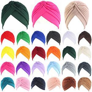 Women-039-s-Muslim-Indian-Hat-Bonnet-Hijab-Turban-Chemo-Cap-Headscarf-Headwrap-New