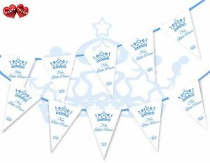 Welcome-New-Baby-Little-Prince-Bunting-Banner-15-flags-First-Birthday-Boy