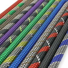 VIABLUE Geflechtschlauch Gewebeschlauch verschiedene Farben und Größen-BIG SILVE