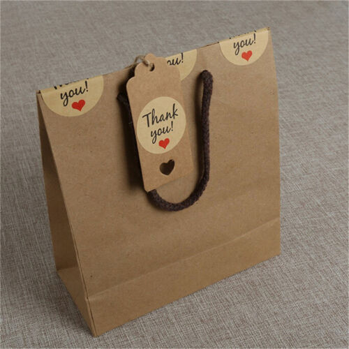100pcs Blank Kraft Paper Hang Tags Wedding Party Favor Label Price Gift Cards LM