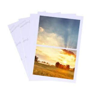 100-Sheets-Glossy-4R-4-034-x6-034-Photo-Paper-200gsm-High-Quality-For-Inkjet-Printers