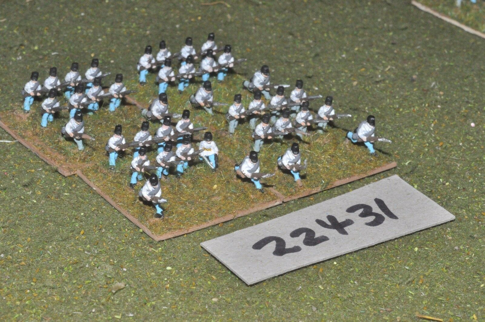 10mm 19th century   austrian - line 40 figs inf - inf (22431)