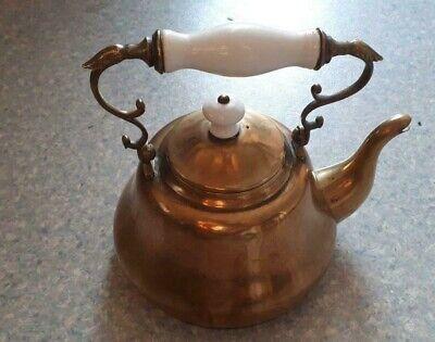 Ancienne théière ou bouilloire en laiton | eBay