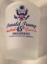 12 pieces DONALD TRUMP 45TH PRESIDENT SHOT GLASS INAUGURATION SHOT GLASSES